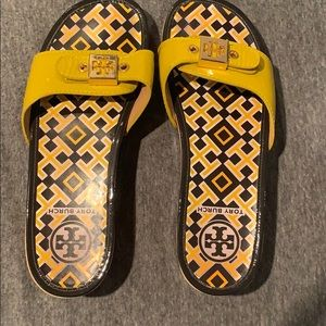Tory burch platform sandal